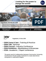 DSW Training-Conference- Exhibition Agenda New