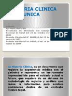 Historia Clinica Unica