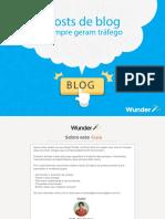 25 Posts de Blog Que Sempre Geram Tráfego