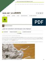 ¿Qué Es Concreto Reforzado Con Fibras_-360 Grados en Concreto