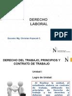 Derecho Laboral Unidad I