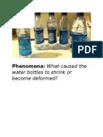 phenomena matter unit