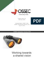 Ossec Con 2012 Day 2
