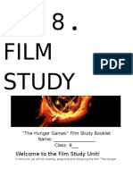the hunger games - film study booklet
