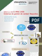 NMX-CC-9001-IMNG-2008