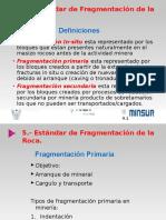 Fragmentacion en La Voladura
