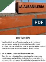 Clase La Albañilería