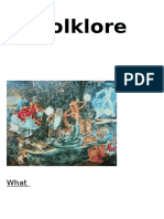What is Folklore