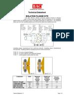 2.1-1 Isolation Flange Kit
