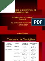 Teorema de Castigliano 01