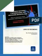 Congreso de Educación Artística Libro de Resúmenes