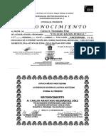 Diplomas y Reconocimientos