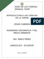 Informe N°4 Iglesia El Sagrario