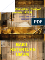 Risalah Intensifikasi Tarbiyah Pemula 1433 H
