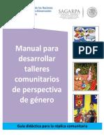 Manual Talleres Comunitarios Perspectiva Género 1.0