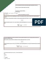 ejercicios quimica