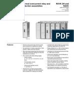 1MRK509003-BEN a en Thermal-overcurrent Relay and Protection RXVK 2H RAVK