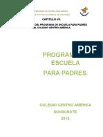 Programa Escuela Para Padres