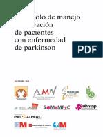 Protocolo Parkinson Madrid