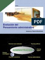 Revolución del pensamiento administrativo