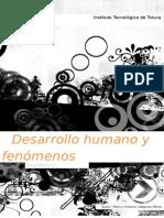 Desarrollo Humano y Fenomenos Poblacionales