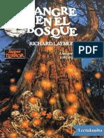 Sangre en El Bosque - Richard Laymon