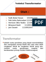 Sistem Proteksi Transformator
