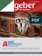 Ratgeber aus Ihrer City-Apotheke – Dezember 2016