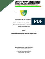 Form Laporan Hibah.doc