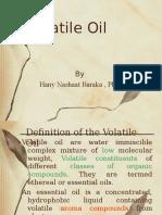 Volatile Oil فاينل