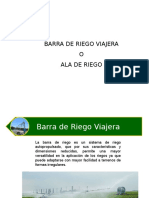 Barra Riego Viajera