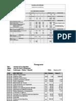 Metrados Losa Deportiva Costos y Presupuestos