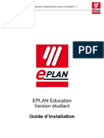 Guide Installation EPLAN Education 25 Be FR