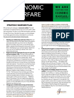 Economic Warfare Strategic Plan