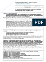 lesson plan final project the correct template