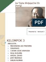 Eka Tjipta Widjaja(Oei Ek Tjhong) profile