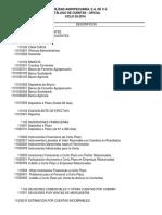 Catalogo de Cuentas Oficial - COAG 02-2016
