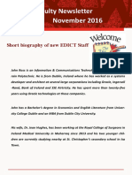 2016.11 EDICT Faculty Newsletter