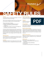 AkzoNobel Safety Rules Tcm9-94334