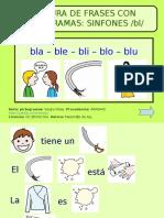 Lectura de Frases Con Pictogramas - Sinfon Bl
