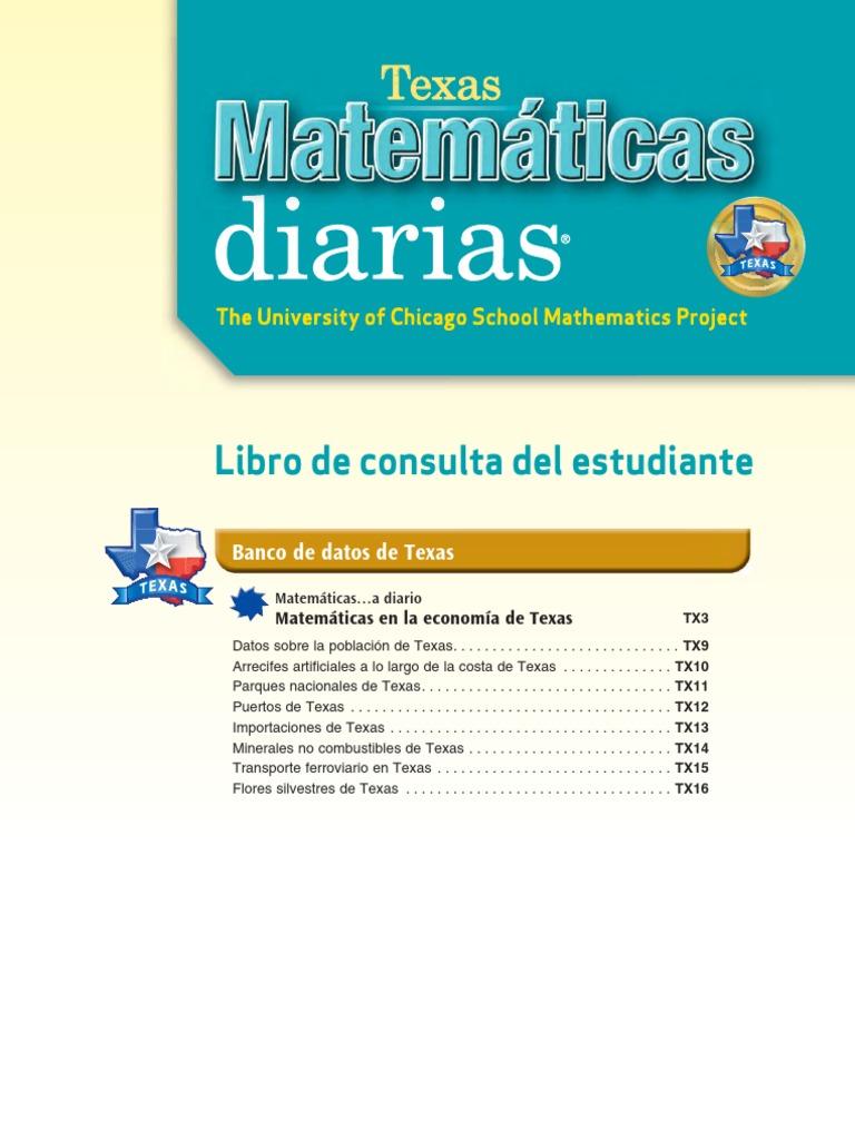 4a400f39d3818 5th Grade Everyday Math - Spanish