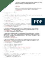 Pascal Notiuni de Baza Teste BAC