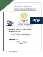 Proyecto Desorcion 2009 II