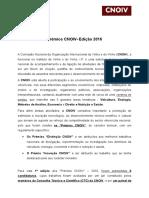 Premios Cnoiv - Edição 2016