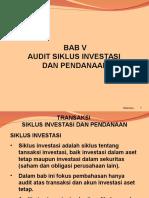 Bab 5 Siklus Investasi Dan Pendanaan