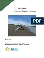 2011 4 13 AHERC River Debris Report