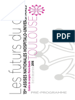 Programme des Assises nationales hospitalo-universitaires de Toulouse
