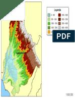 Cuenca Grande Mapa Raster