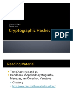 05 - Cryptographic Hashes