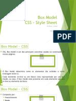 Aula 10 e 11. Box Model